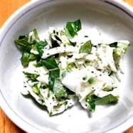 覚書:冬瓜で夏野菜のサラダ