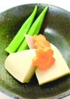 おだしがジュワ~♪高野豆腐の含め煮