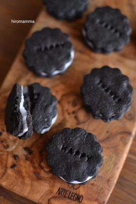オレオ風ブラックココアクッキー