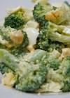 卵とブロッコリーのサラダ