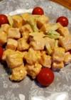 節約おかず♪高野豆腐のエビマヨ風