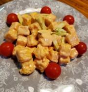 節約おかず♪高野豆腐のエビマヨ風の写真