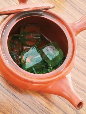 旨みたっぷり!お茶農園流 氷だしのお茶♪