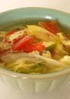 簡単♪トマトと玉子の中華スープ