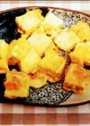 余った焼き豆腐のピカタ