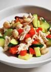 大豆とパプリカのサラダ