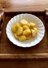 お弁当☆さつま芋のオレンジ煮☆☆