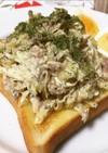 サバ缶☆コールスローサラダ