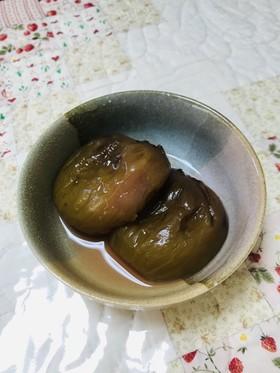 柿酢の皮ごとイチジクの甘露煮