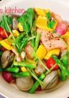 食卓を豊かにする彩り秋鮭のアクアパッツァ