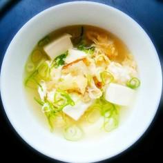 干し鱈のスープ(プゴク)북어국