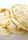 米粉とヨーグルトで発酵なし  ナン