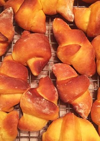 さつま芋の三日月パン