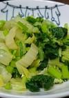 すぐ出来る☆青菜と白菜の浅漬け風お浸し