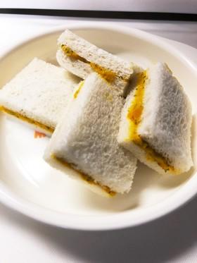 離乳食 カボチャのサンドイッチ