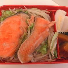 鮭のちゃんちゃん焼き(フライパン使用)