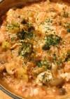 トマト缶の煮込みオムライス