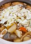 土鍋で芋炊き♪芋煮♪愛媛の味