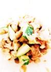 納豆×胡瓜。(ダイエット中の夜食にも!)