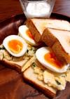 卵たっぷりエッグタルタルサンド
