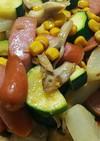 彩り野菜のバター醤油焼き
