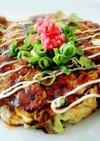 大豆ピューレと長芋のふわとろお好み焼き
