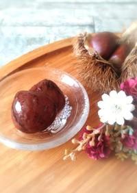 栗の渋皮煮…圧力鍋活用で皮剥き!