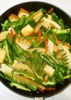 厚揚げの味噌野菜炒め♪簡単