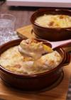 鶏肉と白菜の☆味噌クリームグラタン