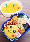 ピカチュウ弁当✨キャラ弁☆ポケモン♪