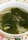 減塩!しいたけ香る中華スープ