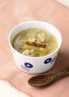 ねぎと肉団子のスープ