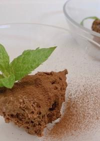 パリのビストロ風☆濃厚チョコレートムース
