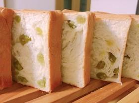 うぐいす豆の角食パン