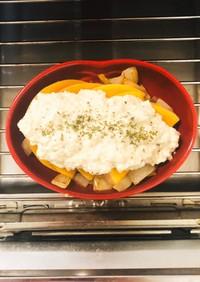植物性★お豆腐ソースのかぼちゃグラタン