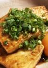 豆腐ステーキ(お月見バージョン)