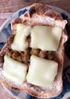 バーモントカレーの粉で納豆トースト