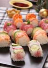 くるくるおしゃれ♪ロール寿司