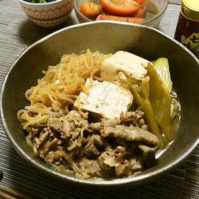 家居酒屋♪「肉豆腐」