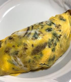 卵好きさんの、食べるラー油のオムライス