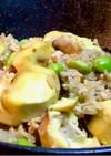 栗と鶏ひき肉の炊き込みご飯&おこわ⋆*ೄ