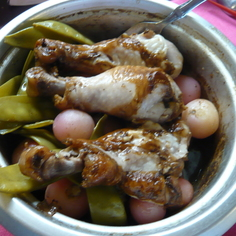 炊飯器骨付き鶏肉!