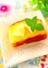 パウンドケーキ、カステラにレモン♬