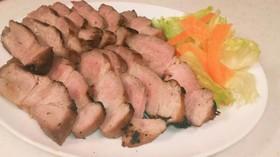 魚焼きグリルと焼肉のタレで、簡単焼豚