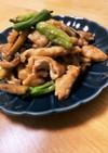 豚肉と茄子の甜麺醤炒め