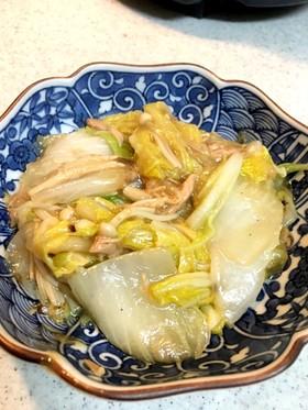 白菜とツナの簡単うま煮