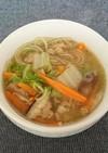私の母の味!具沢山な中華春雨スープ♡