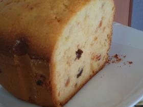 HBとホットケーキミックス使ってケーキ♪