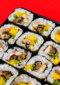 サンマかば焼きの細巻き寿司