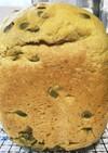 残った煮物でかぼちゃのパン